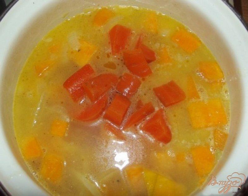 Фото приготовление рецепта: Сливочный суп-пюре из тыквы шаг №7