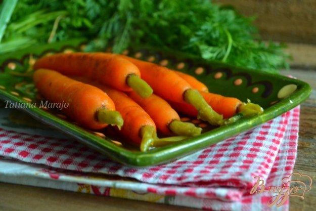 Рецепт Молодая морковь на гарнир