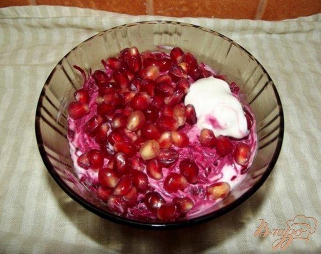 Рецепт Гранатовый салат с курицей