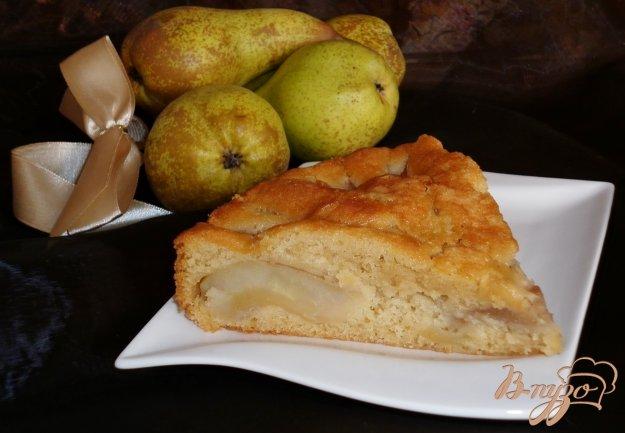 Рецепт Имбирно-грушевый пирог