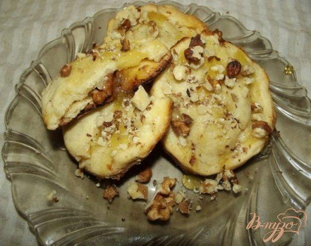 Рецепт Песочное печенье с грецким орехом и медом
