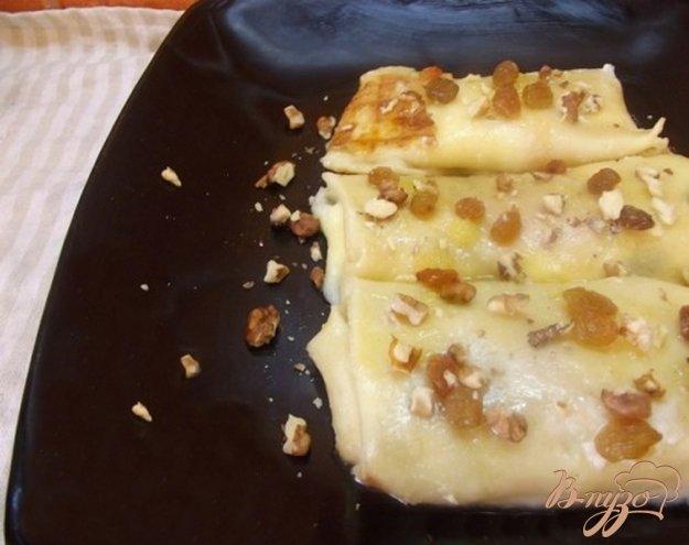 фото рецепта: Блинчики с творогом медовые
