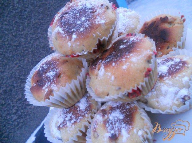Рецепт Кексы с орехами