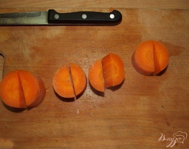Фото приготовление рецепта: Крем-суп из брокколи с сухариками шаг №6