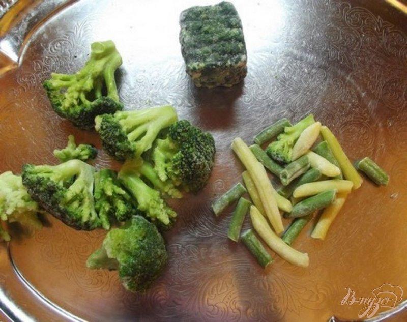 Фото приготовление рецепта: Крем-суп из брокколи с сухариками шаг №1