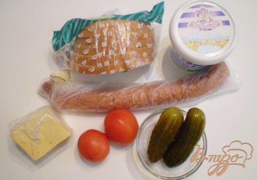 Запеченный бутерброд