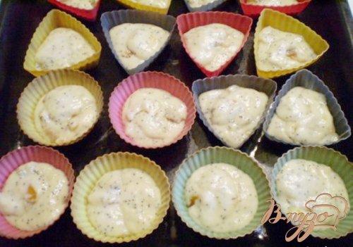 Кексы с сухофруктами