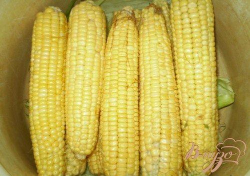 Кукуруза с маслом и солью