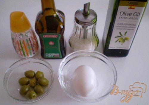 Оливковый майонез