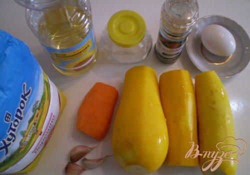 Оладьи кабачковые с морковью и чесноком