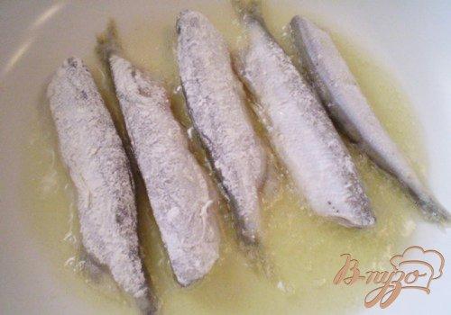 Рыба жаренная ароматная