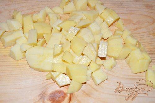 Капустняк картофельный с ветчиной