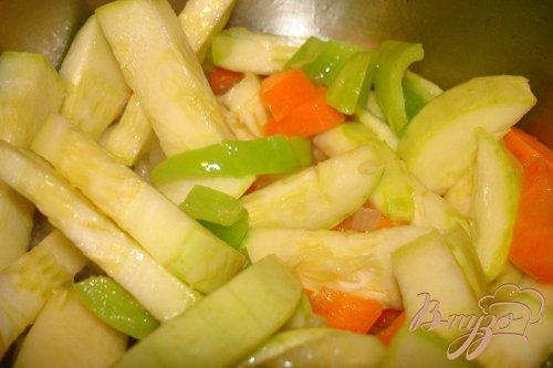 Суп из кабачков с гренками