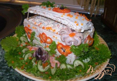 Сундук с морепродуктами