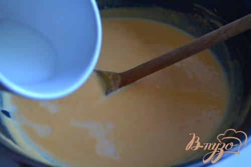 Блины с картофелем и соусом из тыквы