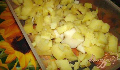 Салат с тунцом и редисом