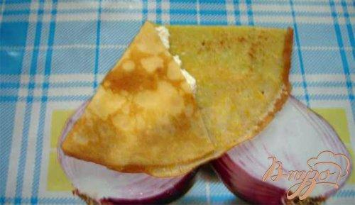 Вкусные кукурузные блинчики с творожной начинкой и кумкватом