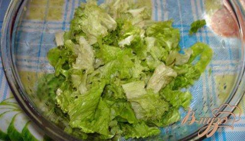 Витаминный салат с сыром