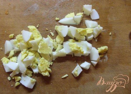 Овощной салат с кальмаром