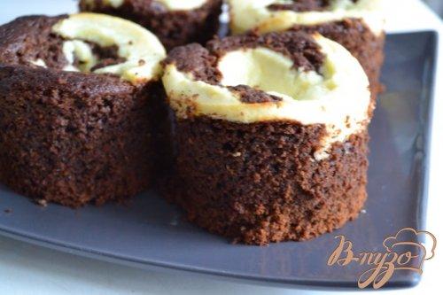 Шоколадные пирожные с рикоттой
