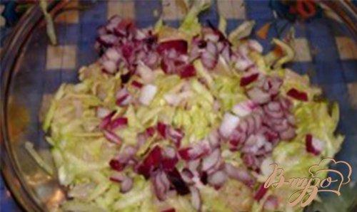 Оладьи овощные с курицей