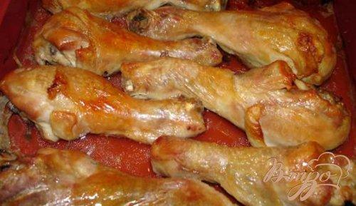 Куриные ножки в жидкой карамели