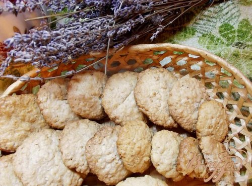 Печенье с овсяными хлопьями