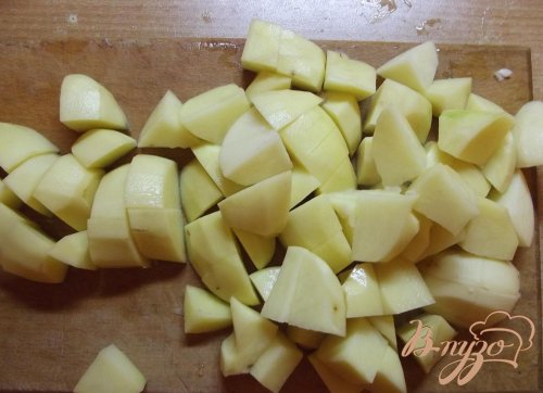 Овощи тушеные с мясом на сале
