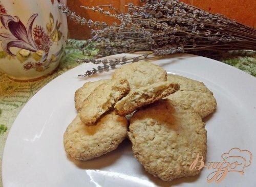 Печенье овсяное на сметане