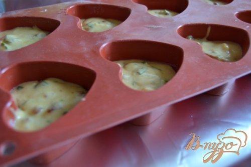 Закусочные кексики с сыром и ветчиной