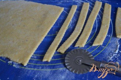 Сырное пикантное печенье к пиву