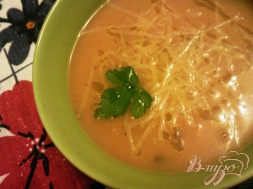 Овощной суп пюре с грибами