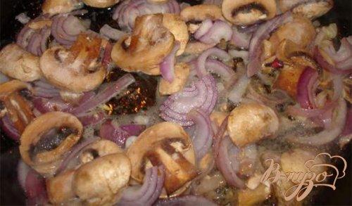 Нежный картофель с грибами