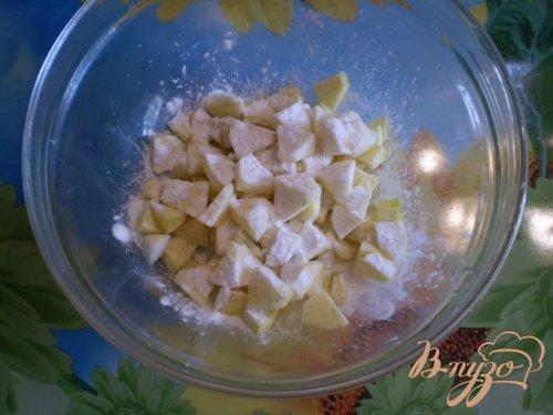 Пирог с яблоками и маком