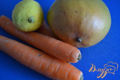 Салат с морковью и манго