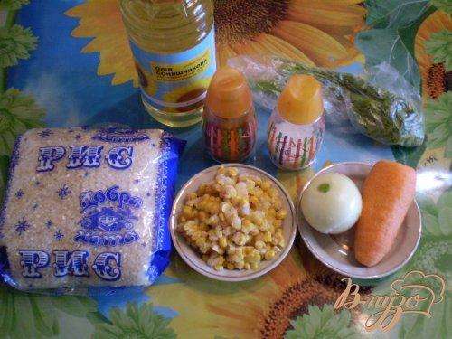 Рисовая каша с кукурузой