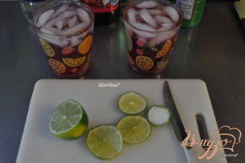 Клюквенный-малиновый коктейль