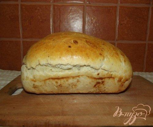 Розмариновый хлеб с сыром и орехами