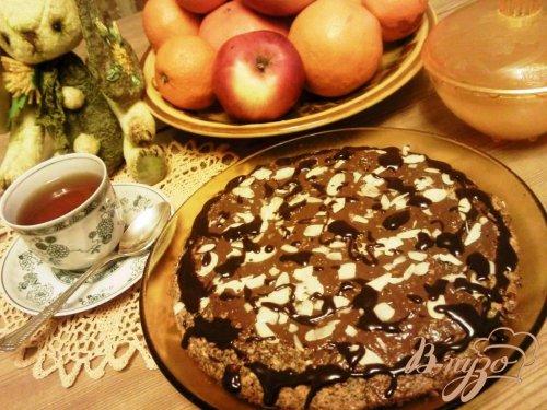 Пирог из овсянки с маком
