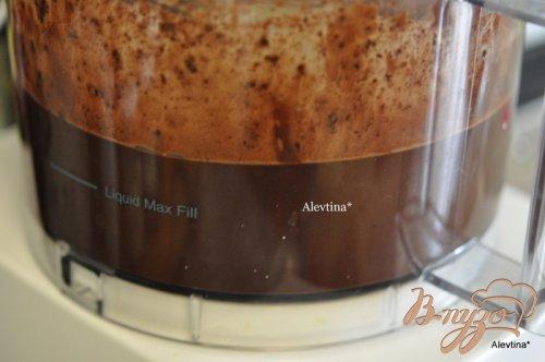 Шоколадный -экспрессо мусс торт