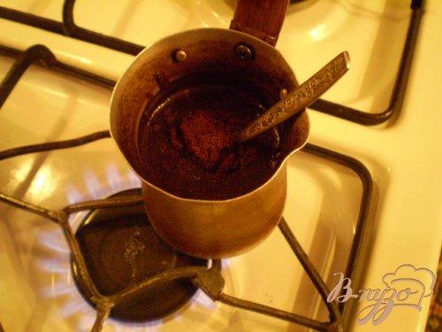 Мороженое со вкусом натурального кофе