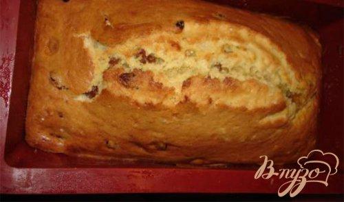 Домашний кекс с кумкватом и изюмом