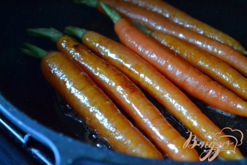 Молодая морковь на гарнир