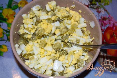 Индюшиные зразы с огурцом и яйцом