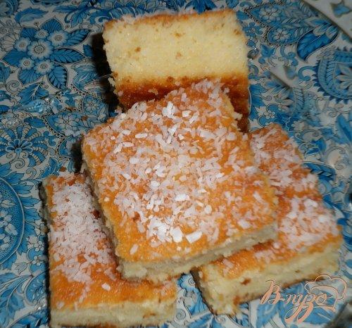 Турецкий йогуртовый пирог