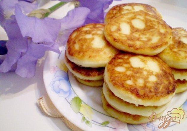 Рецепт Ванильные сырники без яиц