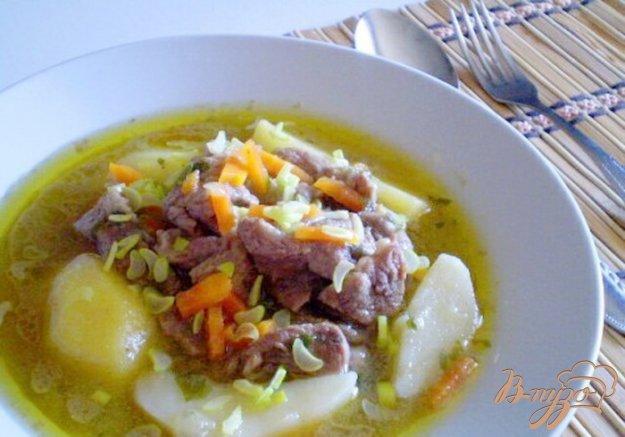 фото рецепта: Говядина тушеная с овощами