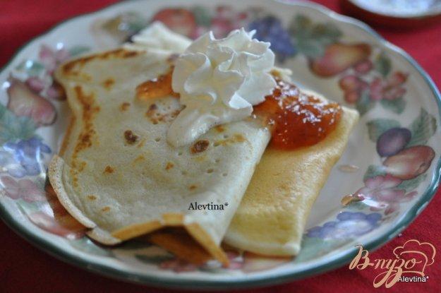 Рецепт Завтрак с блинами