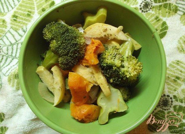 Рецепт Печеные овощи с травами