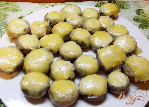 Рецепт Шампиньоны фаршированные курицей